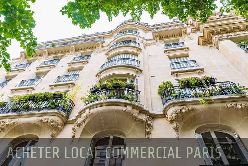Acheter local commercial Paris